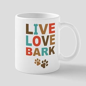 Live Love Bark Mug