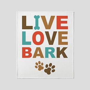live love bark blankets cafepress