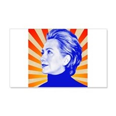 Hillary Clinton Wall Decal