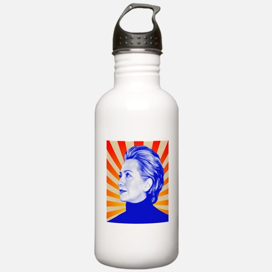Hillary Clinton Water Bottle