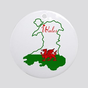 Cool Wales Ornament (Round)