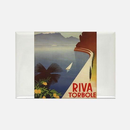 Vintage poster - Riva Torbole Magnets