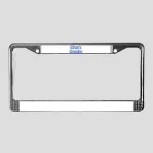 Ethan's Grandpa License Plate Frame