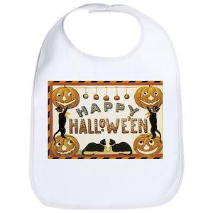 vintage halloween baby bibs cafepress