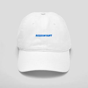 Accountant Blue Bold Design Cap