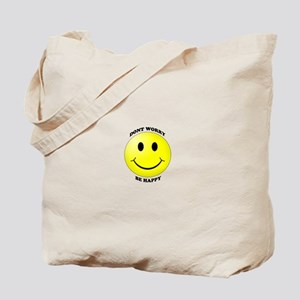 Smiley - Don't Worry Be Happy Tote Bag