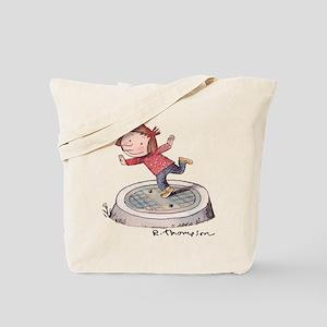 Alice posing Tote Bag