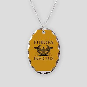 Europa Invictus Necklace Oval Charm