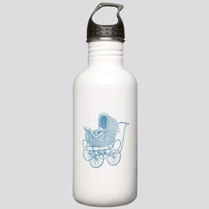 Vintage Blue Baby Carr Stainless Water Bottle 1.0L