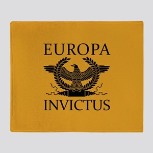 Europa Invictus Throw Blanket