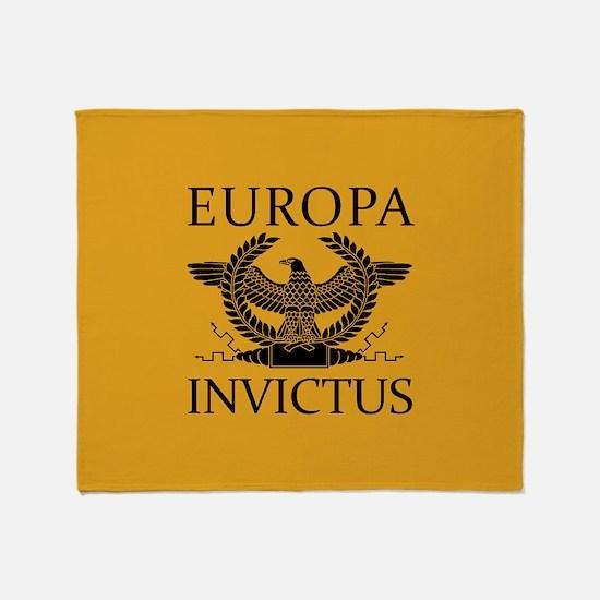 Europa Invictus Throw Blanket