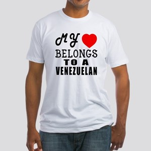 I Love Venezuelan Fitted T-Shirt