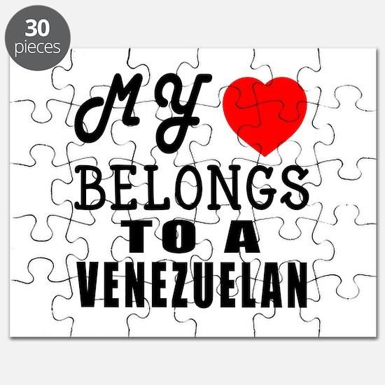 I Love Venezuelan Puzzle