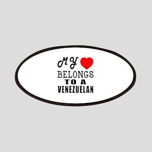 I Love Venezuelan Patch