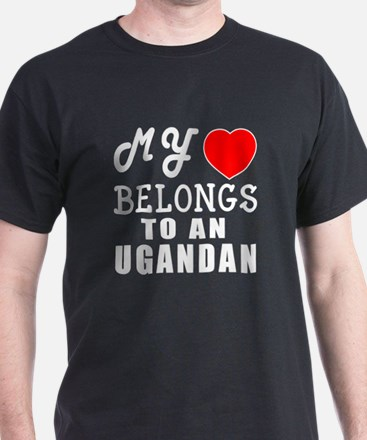 I Love Ugandan T-Shirt