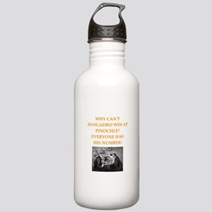 avagadro joke Water Bottle