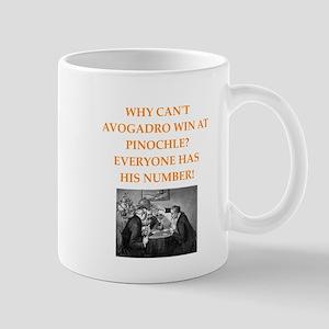 avagadro joke Mugs