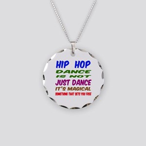 Hip Hop dance is not just da Necklace Circle Charm