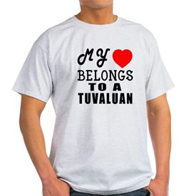 I Love Tuvaluan T-Shirt