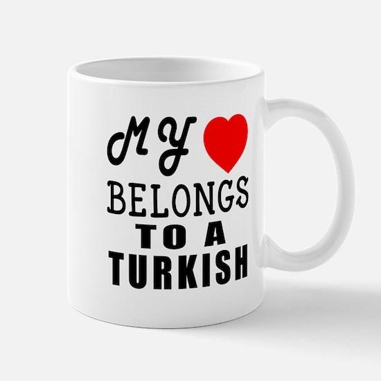 I Love Turkish Mug