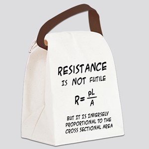 Resistance Humor Canvas Lunch Bag