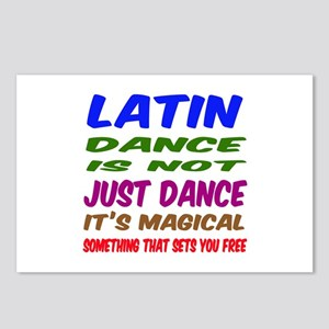 Latin dance is not just d Postcards (Package of 8)