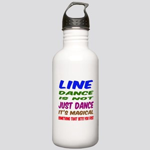 Line dance is not just Stainless Water Bottle 1.0L