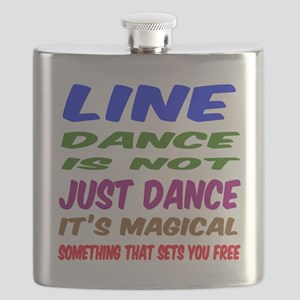 Line dance is not just dance Flask