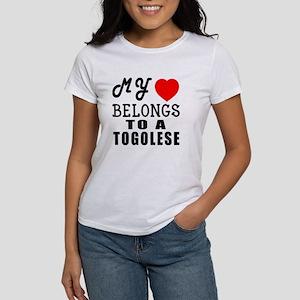 I Love Togolese Women's T-Shirt
