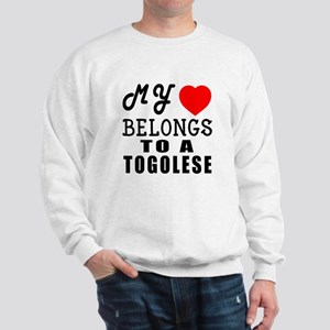 I Love Togolese Sweatshirt