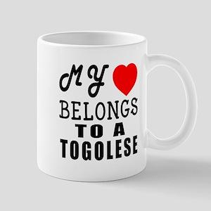 I Love Togolese Mug
