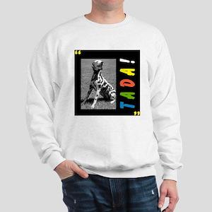Dalmation tada! Sweatshirt