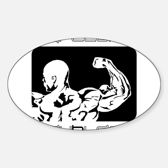 Mens Sticker (Oval)