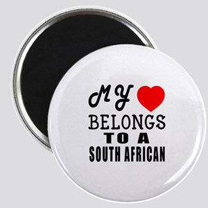 I Love South African Magnet
