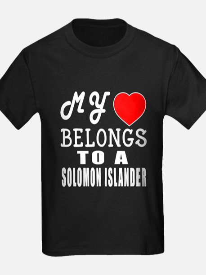 I Love Solomon Islander T