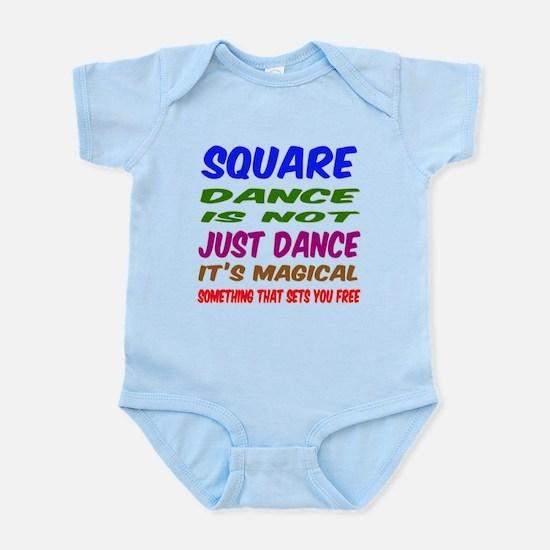 Square dance is not just dance Infant Bodysuit