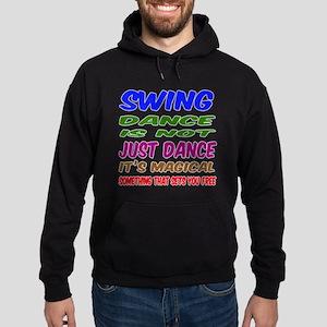 Swing dance is not just dance Hoodie (dark)