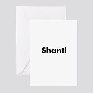 Shanti Greeting Cards (Pk of 10)