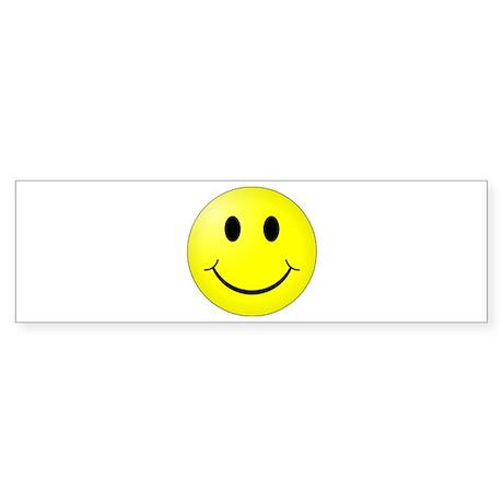 Classic Smiley Bumper Sticker