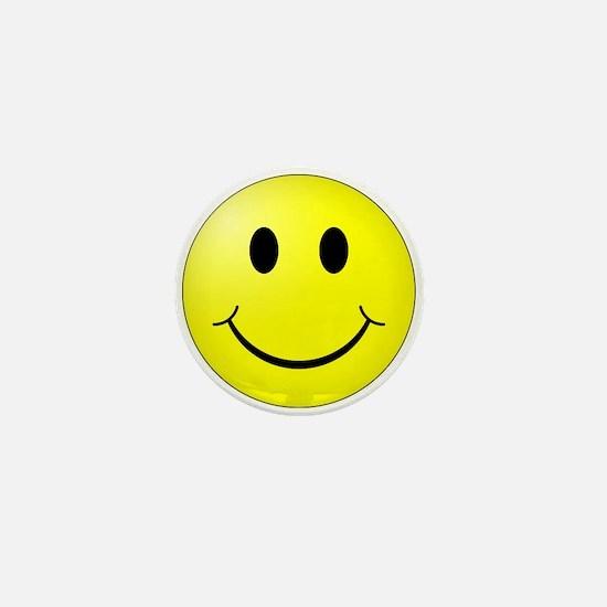 Classic Smiley Mini Button