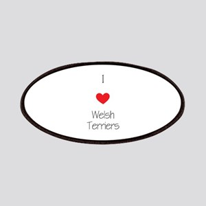 I love Welsh Terriers Patch