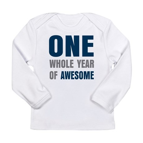 One year awesome Long Sleeve T-Shirt