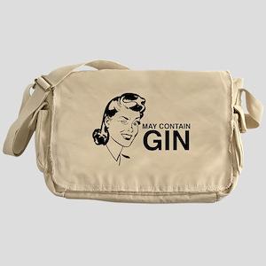 May contain gin Messenger Bag
