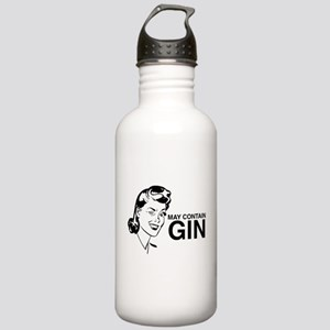 May contain gin Stainless Water Bottle 1.0L
