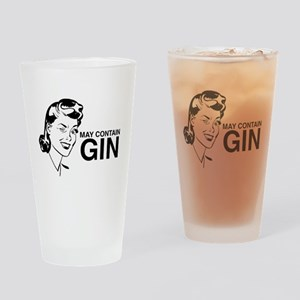 May contain gin Drinking Glass