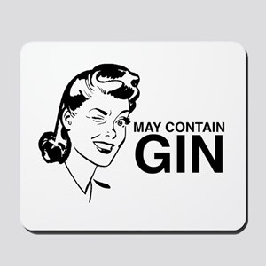 May contain gin Mousepad