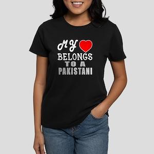 I Love Pakistani Women's Dark T-Shirt