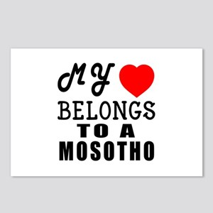 I Love Mosotho Postcards (Package of 8)