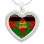 Born In Washitaw Silver Heart Necklace Necklaces