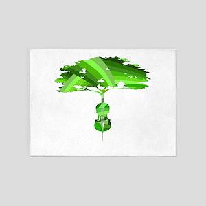 Cello tree-20 5'x7'Area Rug